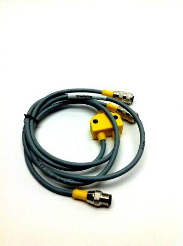 Turck VB-RS 4.4T-1/2RK 4.4T-0.3/0.3/S651 U0163-21 M12 Splitter Cable