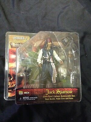 Neca Pirates Of The Caribbean JACK SPARROW Series 2 Dead Mans Chest MIP , used for sale  Springfield