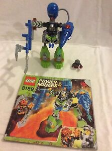 LEGO 8189 POWER MINERS MAGMA MECH - VERY RARE Yanchep Wanneroo Area Preview