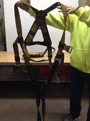 Dbi Safety Lift Harness Personal Fall Arrest Protection Full Body Lanyard