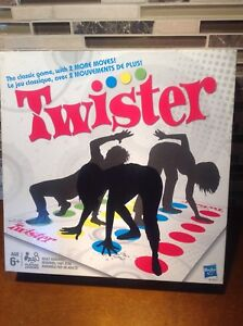 Classic Twister Board Game by Hasbro