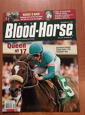 Blood Horse Zenyatta 17Th Straight Win-Rachel Alexandria NEW