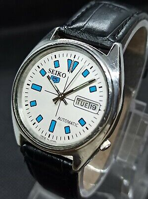 Vintage Seiko 5 Automatic Movement no.6309A Japan Made Men's Watch