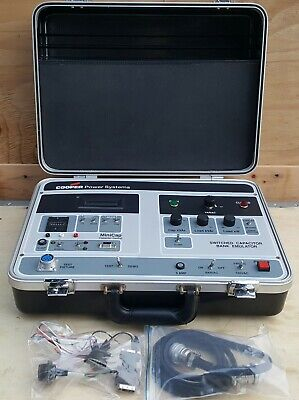 Cooper Power Systems Switched Capacitor Bank Emulator Capulator Hsc11