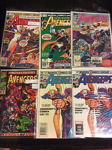 Ad updated Key issues Avengers comics