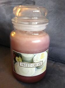 RARE-YANKEE-CANDLE-SWEET-CREAM-22-OZ-JAR-CANDLE