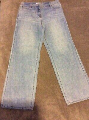 Next WideLeg Mid Rise Ladies Jeans Size 12 Regular