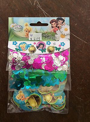 Tinker Bell Fairies Party Supplies Confetti 1.2oz Value pack (Tinkerbell Table Decorations)