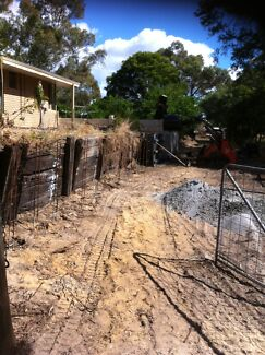 Panel& post prefab  retaining walls