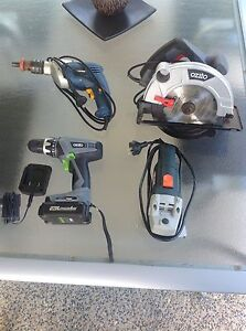 Selection of power tools. Narangba Caboolture Area Preview