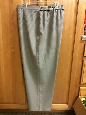 Women's Size 20 Haberdashery Pants Trousers Woven Black/White Houndstooth  EUC ()