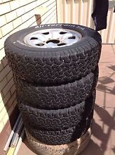 4x4 tyres and rims Henley Beach Charles Sturt Area Preview