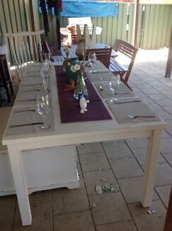 Large 8-10 Seater Shabby Chic Table. Castle Hill The Hills District Preview
