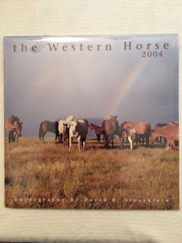 The Western Horse 2004 Calendar
