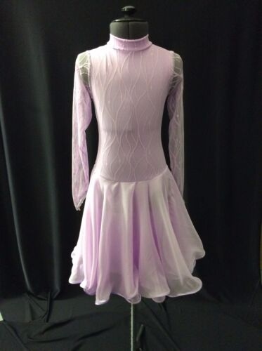 SIZE 0 (4-6 YRS) BALLROOM AND LATIN DRESSES AND TRIO DANCEWEAR B15