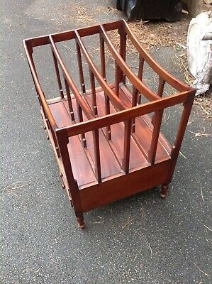 Canterbury Mahogany Music Rack With 2 Drawers