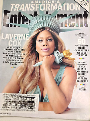 Entertainment Weekly Magazine Laverne Cox Oitnb June 19  2015 050217Nonrh