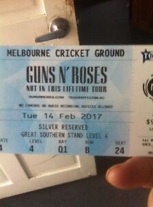 Guns n Roses MCG Urgent Sale Glenorchy Glenorchy Area Preview
