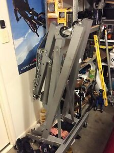 1250kg SCA engine crane Brassall Ipswich City Preview