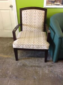 Gently used  chair at the HFH restore