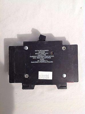 Cutler Hammer Qcr2060 60A 120 240V 2P 10K Used