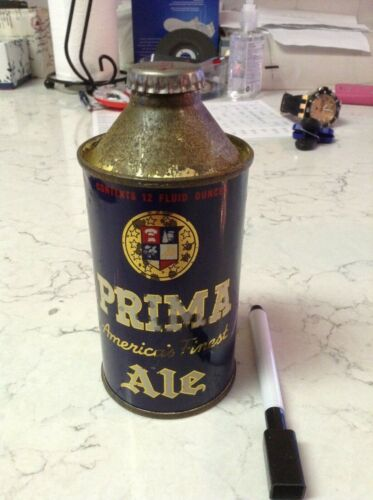Prima Ale Cone Top Beer Can