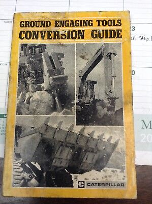 Cat Caterpillar Ground Engaging Tools Conversion Guide