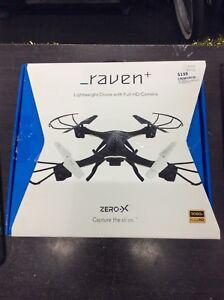 74221 - Raven  Drone Zero-X Black Frankston Frankston Area Preview
