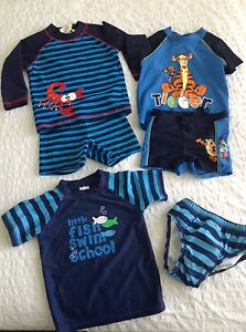 Boys Size 1 Rashies and Swimwear North Narrabeen Pittwater Area Preview