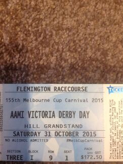 AAMI Victoria Derby Day Tickets x 9  Barnsley Lake Macquarie Area Preview