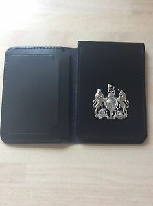 Warrant Card Wallet with Coat of Arms Crest (obsolete)