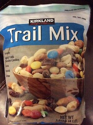 Kirkland Trail Mix 4 Lb Resealable Bag New Sealed Free Shipping