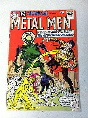 METAL MEN in SHOWCASE #38, 2ND APPEARANCE, KEY ISSUE, NIGHTMARE MENACE, 1962