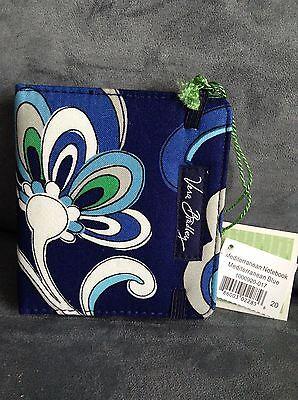 Vera Bradley Mediterranean Blue Mini Pocket Notebook - Limited Edition - New