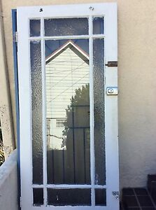 Front timber and glass entrance door Fairlight Manly Area Preview