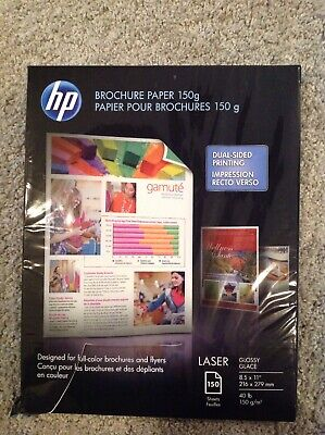 Hp Brochure Paper 150g Laser Dial Sided Printing Glossy 150 Sheets