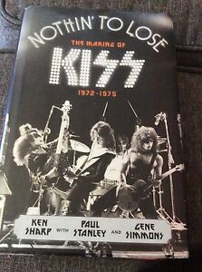 KISS: Nothing to lose book