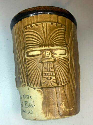 Vintage Tiki Mug Tonga Room Fairmont Hotel San Francisco Barware