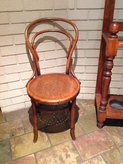 Vintage bentwood chair, wooden  Bassendean Bassendean Area Preview