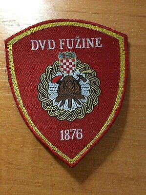 CROATIA PATCH FIRE FIREFIGHTER DVD FUZINE - ORIGINAL!
