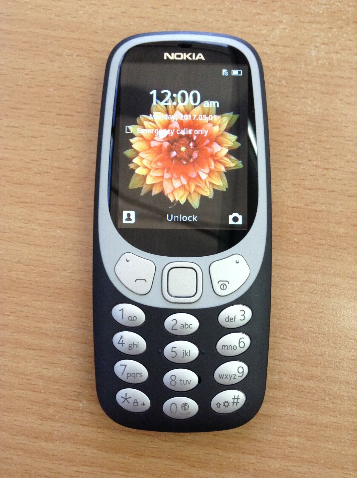 Android Phone - Nokia 3310 3G Phone TA-1036 64MB UNLOCKED Black #Stratches