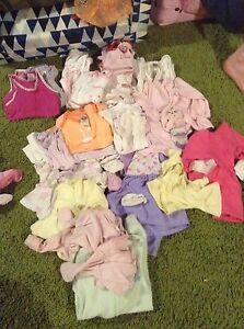 Size 0000 and 000 baby girl clothes Carbrook Logan Area Preview