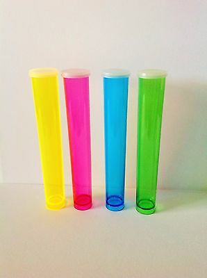 12 Pcs Clear Plastic Tube Gumball Candy Tubes 5