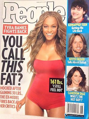 People Magazine Tyra Banks Fights Back February 5  2007 No Ml 081017Nonrh3