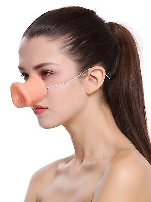 Schweinsnase Piggy Pig Nase Schwein Rüssel Halloween Karneval Gummiband BB-015