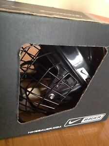 Hockey or ice skating helmet--Bauer and Nike
