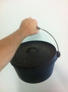 Cast iron pot Port Macquarie Port Macquarie City Preview