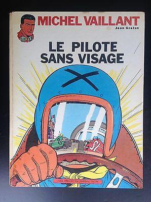Michel Vaillant Le Pilote sans visage Réed 1967 Graton BON ETAT
