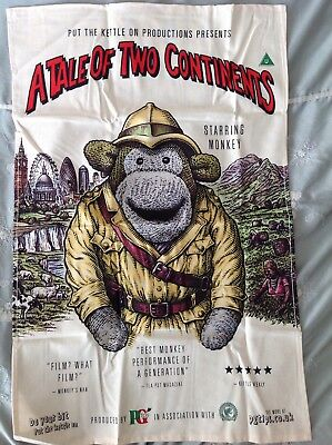 PG TIPS MONKEY TEA TOWEL LIMITED EDITION COLLECTORS GIFT ORGANIC COTTON NEW