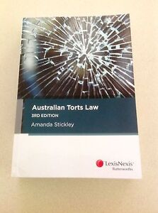 Australian Torts Law, 3rd edition, by Amanda Stickley Coorparoo Brisbane South East Preview